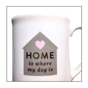 """Fringe Studio Mug """"Home is Where My Dog Is"""""""